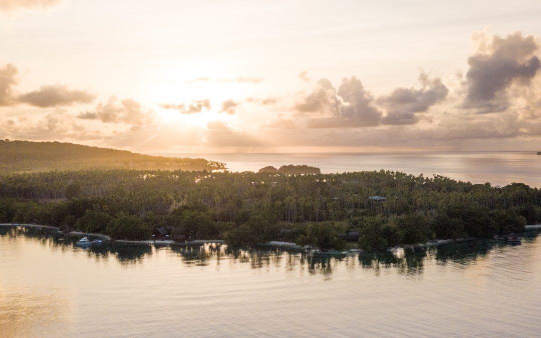Escape to a private island in Vanuatu